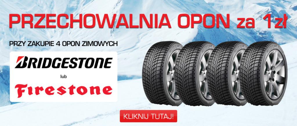 Bridgestone przechowalnia za 1zl
